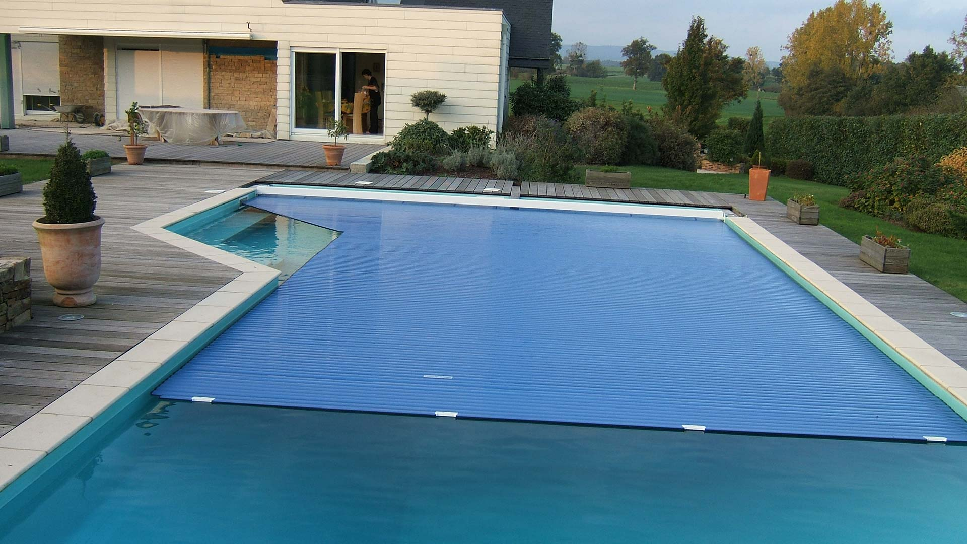 Piscines de particuliers for Piscine coque en l