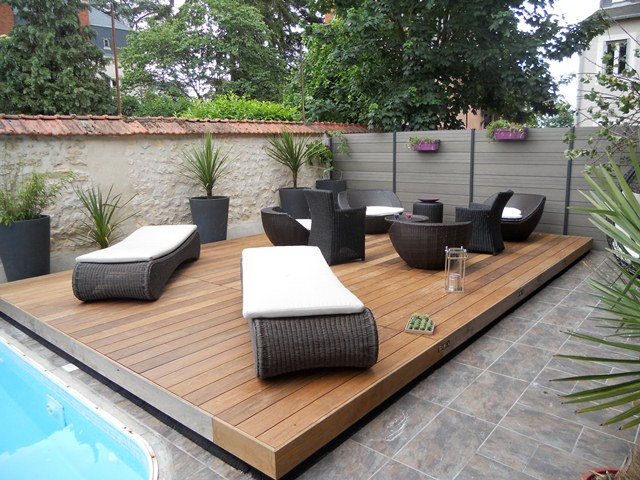 Abris terrasse normandie piscine for Transat terrasse design